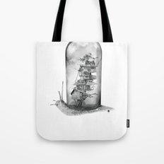 Snail - Evolving Home Tote Bag