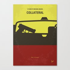 No691 My Collateral minimal movie poster Canvas Print