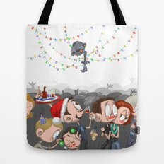 There are CHRISTMAS strings on me... Tote Bag