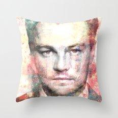 Leonardo DiCaprio Throw Pillow
