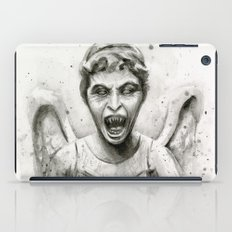 Weeping Angel Watercolor iPad Case