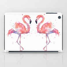 Flamingo Watercolor  iPad Case