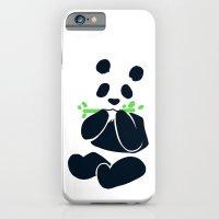 iPhone & iPod Case featuring Panda by Peach Momoko