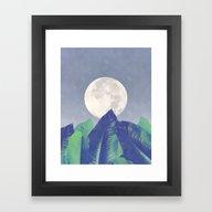 Framed Art Print featuring Vintage Moon Dance #soci… by 83oranges.com