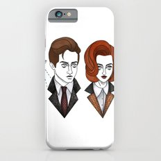 mulder and scully Slim Case iPhone 6s