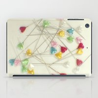 I heart pins iPad Case