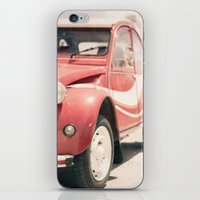 Let's Feel The Breeze iPhone & iPod Skin