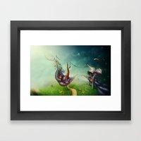 Freedom Fields Framed Art Print