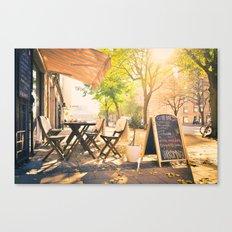 Swedish Sunsets & Coffee Canvas Print
