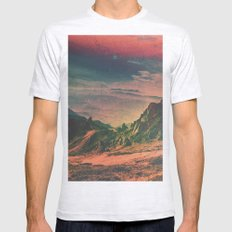 Psychedelic Planet Mens Fitted Tee Ash Grey SMALL