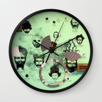 Over And Out!  Wall Clock