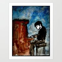 There Is Poetry In The W… Art Print