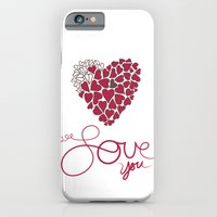 iPhone & iPod Case featuring Love You . . . by Kim Moulder