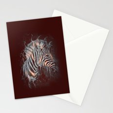 DARK ZEBRA Stationery Cards