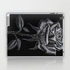 Silver Rose Laptop & iPad Skin