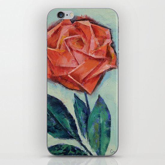 Origami Rose iPhone & iPod Skin