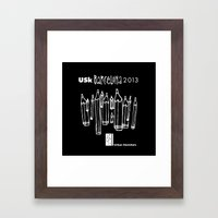 Urban Sketchers USk BCN … Framed Art Print