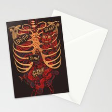 Anatomical Study - Day of the Dead Style Stationery Cards