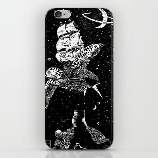 Sobaloopsian Father & Son iPhone & iPod Skin