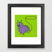 Butt Rope Framed Art Print