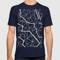Ab Outline Mod Mens Fitted Tee Navy SMALL