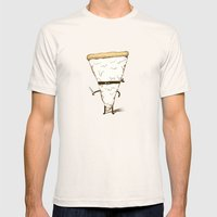 Slice! Mens Fitted Tee Natural SMALL