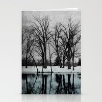 Winter In The Park Stationery Cards