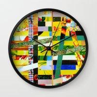 Carina (stripes 2) Wall Clock