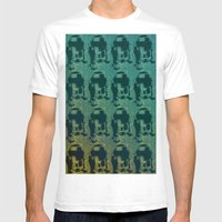 Star Wars Pop Art: Cool R2D2 Mens Fitted Tee White SMALL