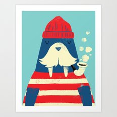 The Walrus Art Print
