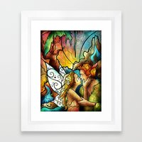 The World Was Ours Framed Art Print