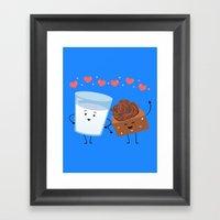 Brownie's BFF Framed Art Print