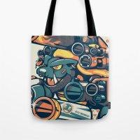 Atomic Blastoise  Tote Bag