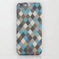 iPhone & iPod Case featuring Harlequin Grey by Project M