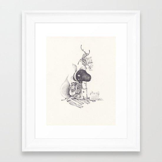 miséricorde Framed Art Print