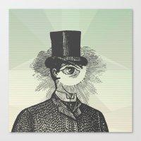 Eyeliner Canvas Print