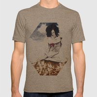 The Offering Mens Fitted Tee Tri-Coffee SMALL