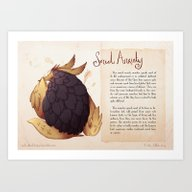Art Print featuring Real Monsters- Social An… by Zestydoesthings