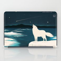 The White Wolf Is Calling iPad Case