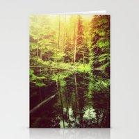 Mirror Pond Stationery Cards
