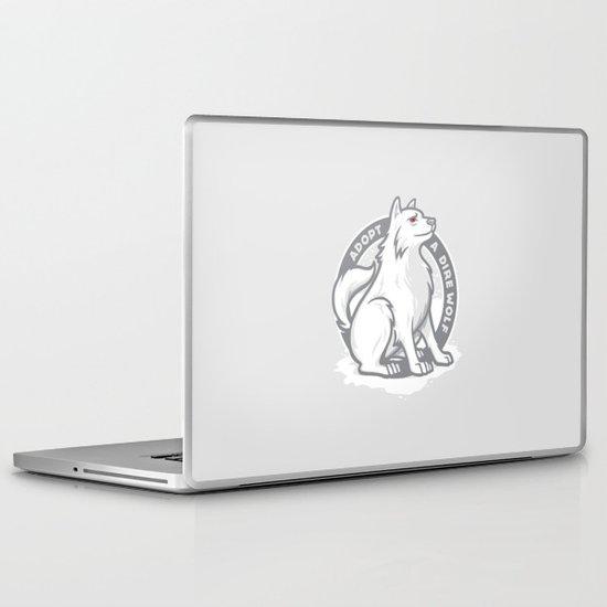 Adopt A Dire Wolf Laptop & iPad Skin