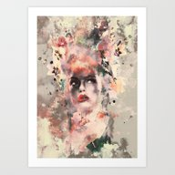 Attractive Women Art Print