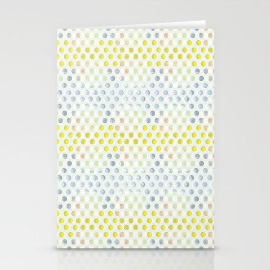 Polka dots Stationery Card