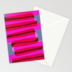 Pink stack  Stationery Cards