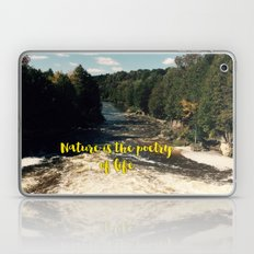 Nature Is The Poetry Of … Laptop & iPad Skin