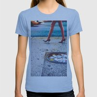 Pretty Gritty Womens Fitted Tee Athletic Blue SMALL