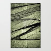 Again the Smoke Canvas Print