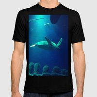 Under the Sea Mens Fitted Tee Black SMALL