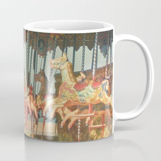 Circling Horses Mug