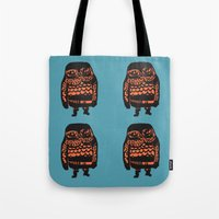 Little Seal (blue) Tote Bag
